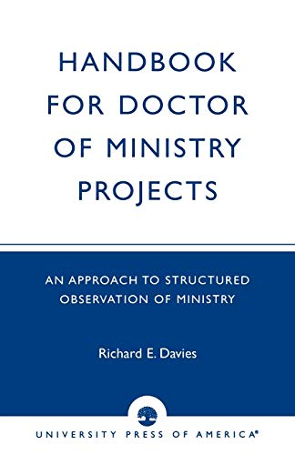 9780819137647: Handbook for Doctor of Ministry Projects