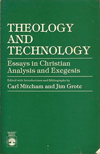 9780819138095: Theology and Technology: Essays in Christian Analysis and Exegesis