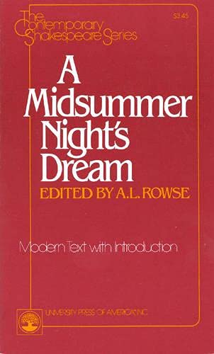 A Midsummer Night's Dream: Modern Text with: Shakespeare, William