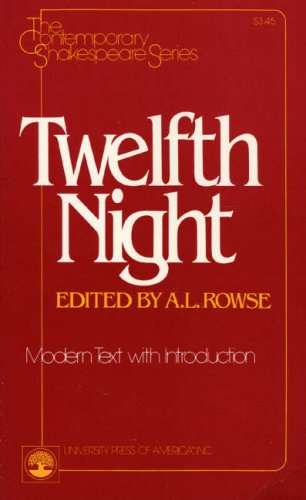 Twelfth Night (The Contemporary Shakespeare Series)