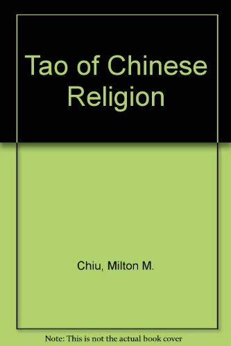 an analysis of taoism in chinese religion