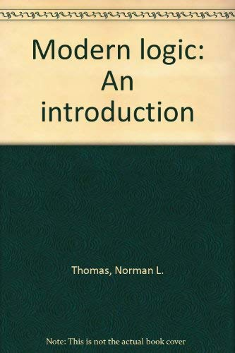9780819143501: Modern Logic: An Introduction