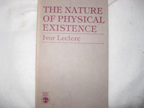 9780819148537: The Nature of Physical Existence