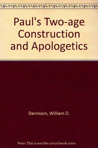 9780819150127: Paul's Two-Age Construction and Apologetics