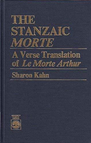 9780819154262: The Stanzaic Morte: A Verse Translation of Le Morte Arthur