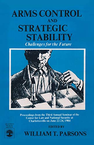 9780819154750: Arms Control and Strategic Stability