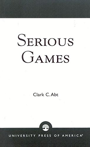 9780819161475: Serious Games