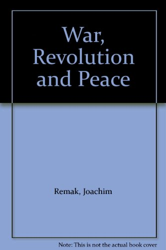 9780819163424: War, Revolution and Peace