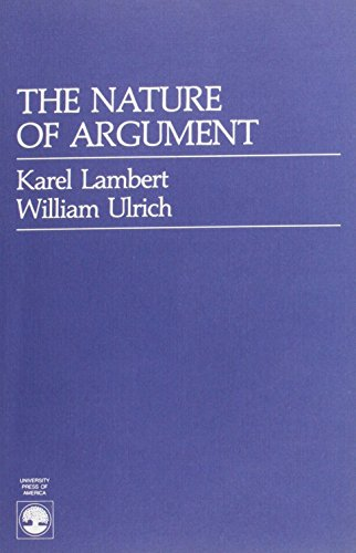 9780819167477: The Nature of Argument