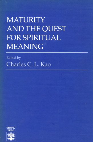 9780819169730: Maturity and the Quest for Spiritual Meaning