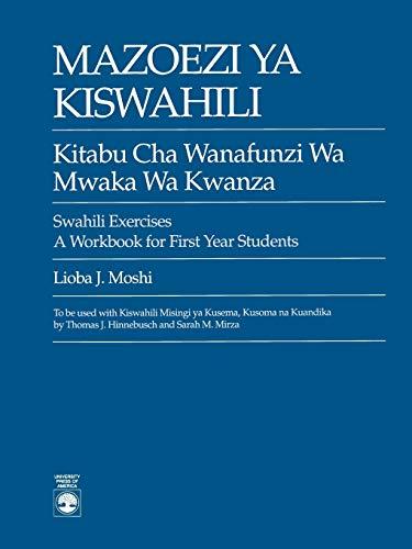 Mazoezi ya Kiswahili: Moshi, Lioba J.