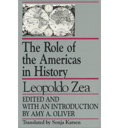 9780819179289: The Role of the Americas in History