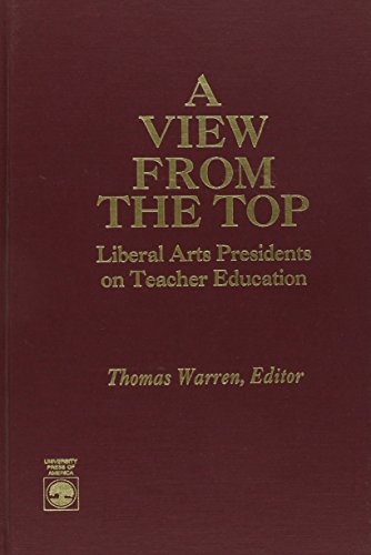 A View From the Top: Warren, Thomas