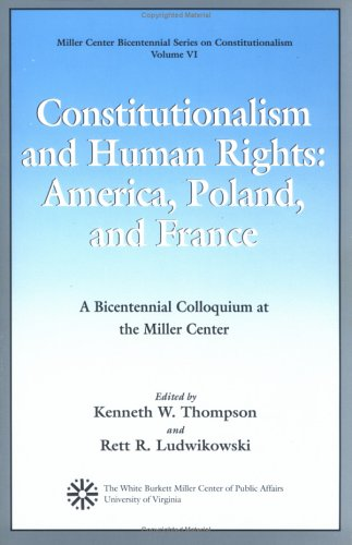 9780819181527: Constitutionalism and Human Rights