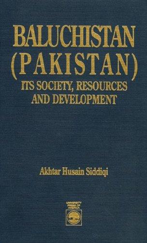 9780819182265: Baluchistan (Pakistan)