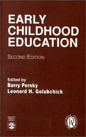9780819182968: Early Childhood Education, Second Edition
