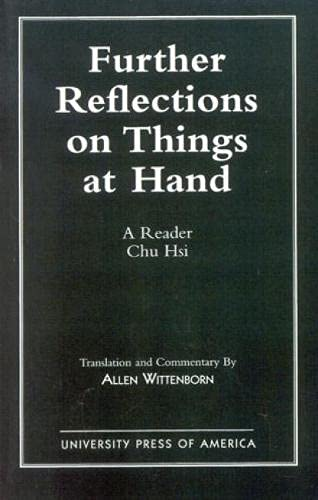 9780819183729: Further Reflections on Things at Hand