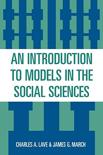 9780819183811: An Introduction to Models in the Social Sciences