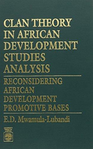 9780819184276: Clan Theory in African Development Studies Analysis