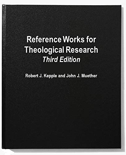 9780819185648: Reference Works for Theological Research