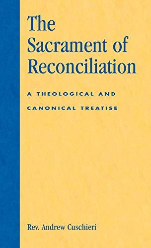 9780819186553: The Sacrament of Reconciliation