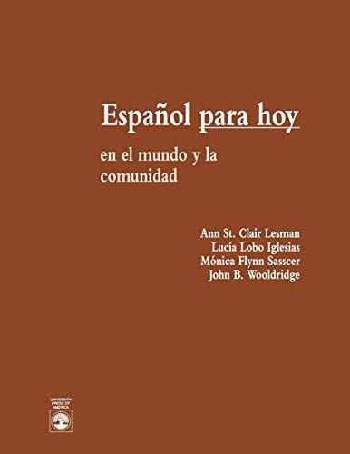 9780819188588: Español Para Hoy