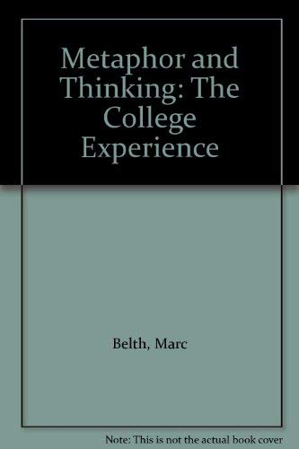 9780819190215: Metaphor and Thinking: College Experience
