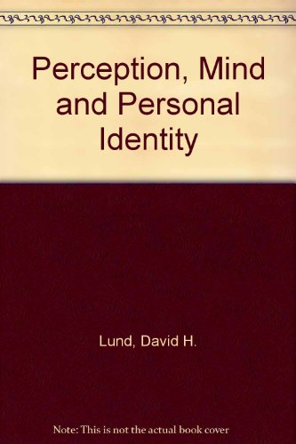 9780819196156: Perception, Mind and Personal Identity
