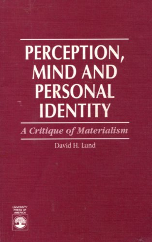 9780819196163: Perception, Mind and Personal Identity