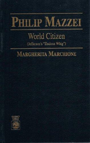 9780819196989: Philip Mazzei : World Citizen