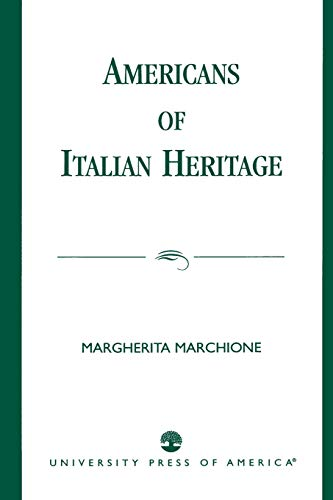 9780819198266: Americans of Italian Heritage