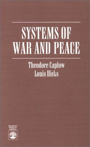9780819198587: Systems of War and Peace