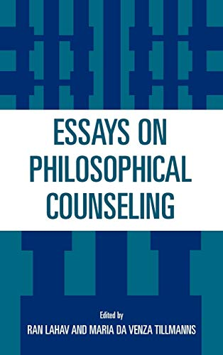 9780819199737: Essays on Philosophical Counseling