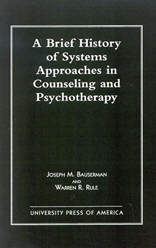 9780819199966: A Brief History of Systems Approaches in Counseling and Psychotherapy