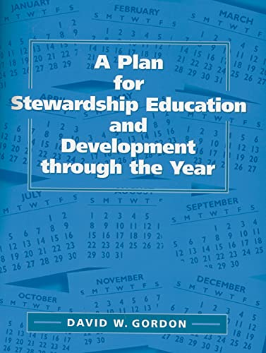 9780819218032: A Plan for Stewardship Education and Development Through the Year