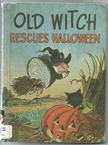 9780819306081: Old Witch rescues Halloween!
