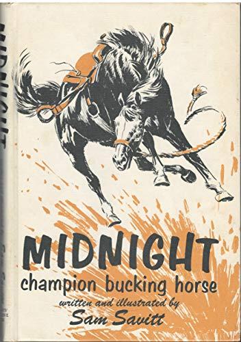 Midnight, Champion Bucking Horse.: Savitt, Sam.