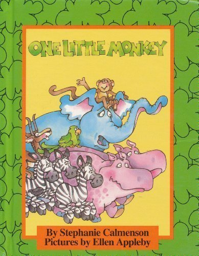 9780819310910: One Little Monkey (Parents Magazine Read Aloud and Easy Reading Program Original)