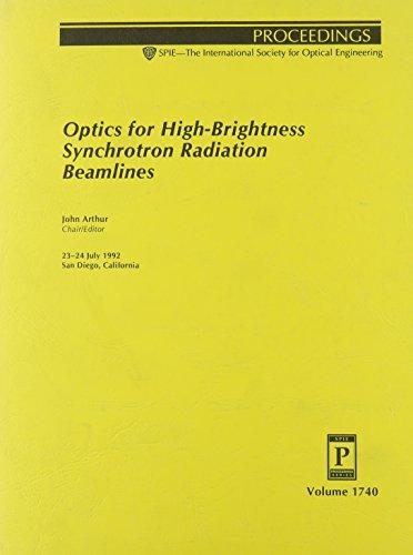 Optics for High-Brightness Synchrotron Radiation Beamlines: 23-24: n/a