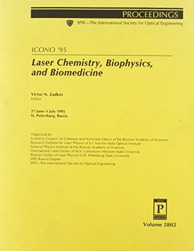 9780819421906: Spie Proceedings: Laser Chemistry, Bio Physics, Bio Medicine (Proceedings / SPIE--the International Society for Optical Engineering)