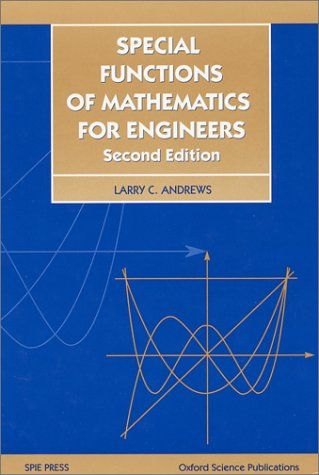 9780819426161: Special Functions of Mathematics for Engineers