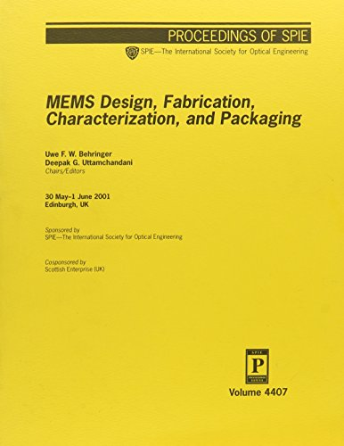9780819441089: Mems Design Fabrication Characterization and Packaging
