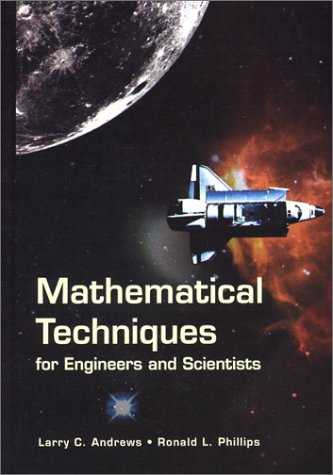 9780819445063: Mathematical Techniques for Engineers and Scientists (SPIE Press Monograph Vol. PM118)