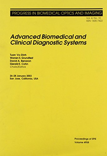Advanced Biomedical and Clinical Diagnostic Systems (Proceedings: Tuan Vo-Dinh (Editor)