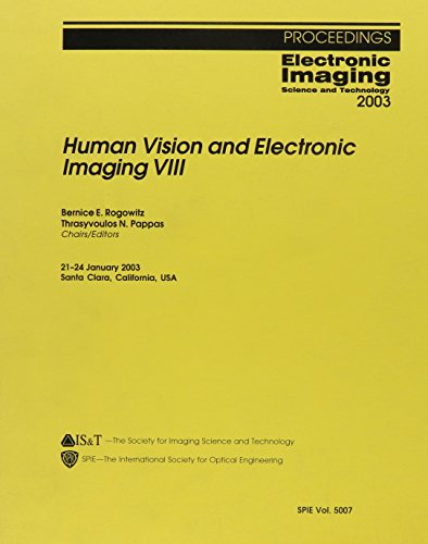 9780819448071: Human Vision and Electronic Imaging: VIII (Proceedings of SPIE)