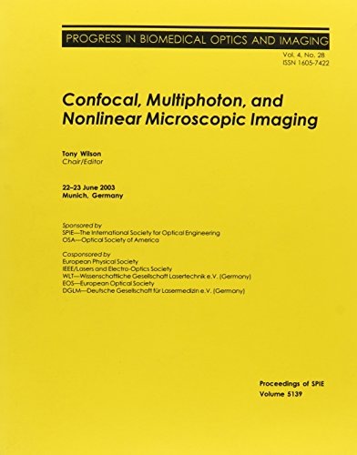 9780819450098: Confocal, Multiphoton, and Nonlinear Microscopicimaging (Proceedings of SPIE)