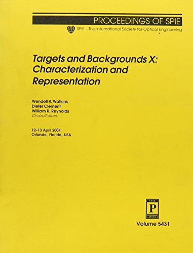 9780819453549: Targets And Backgrounds X: Characterization And Representation (Proceedings of Spie)