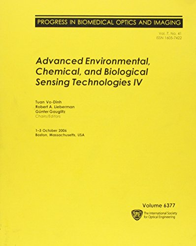 Advanced Environmental, Chemical, and Biological Sensing Technologies: Vo-Dinh, Tuan, Lieberman,