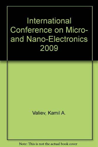9780819479112: International Conference on Micro- and Nano-Electronics 2009