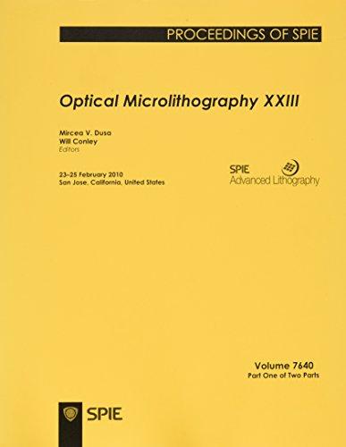 Optical Microlithography XXIII (Paperback): Mircea V. Dusa